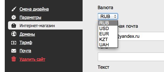 Выберите валюту магазина один раз, и пишите в поле