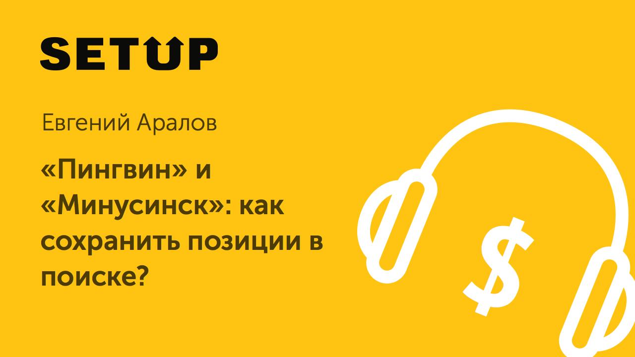 Евгений Аралов в подкасте Setup.ru